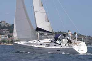 scuola vela barca beneteau 343