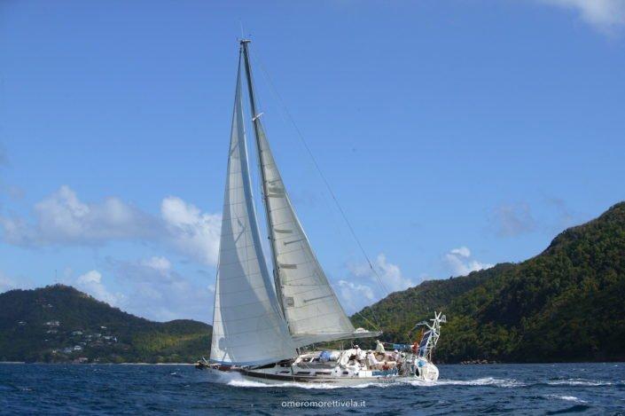 scuola vela barca Sun Odyssey 51